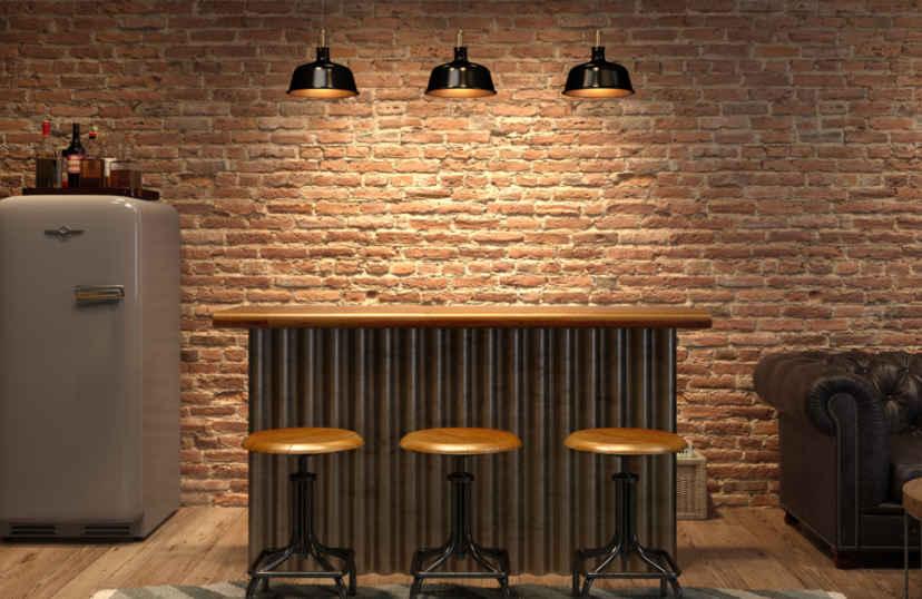 Bar in kelder