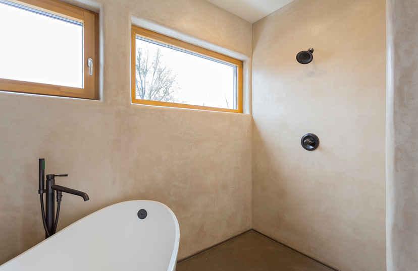 Tadelakt In Badkamer : Tadelakt download badezimmer stockfoto bild von eimer raum