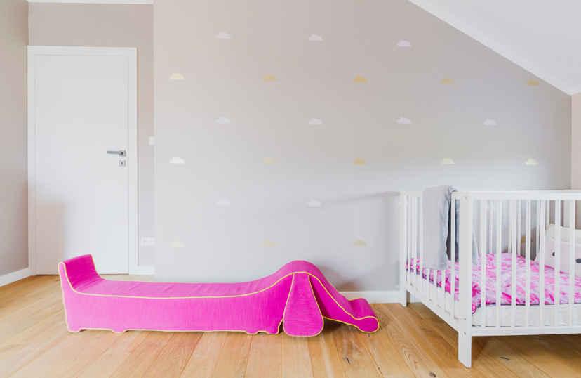 Kinderkamer behangen