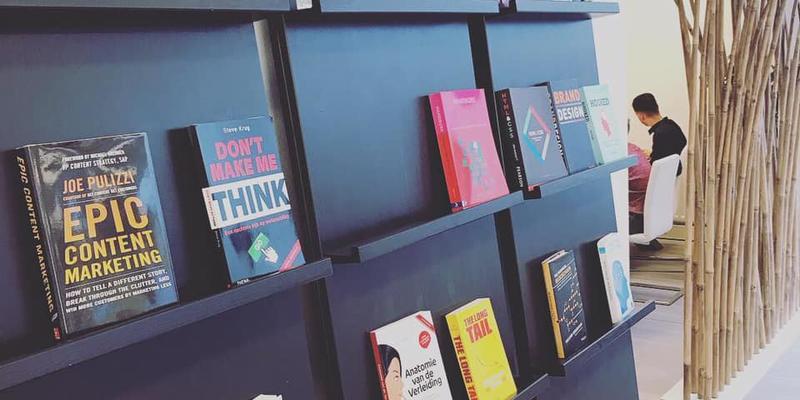 Onze boekenkast