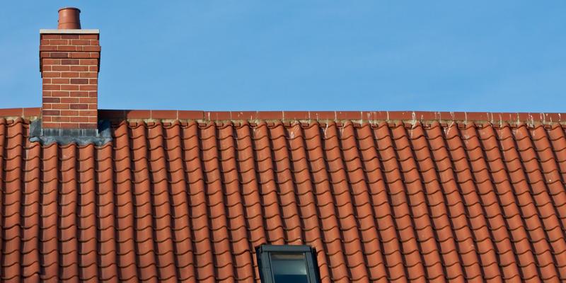 gebakken dakpannen