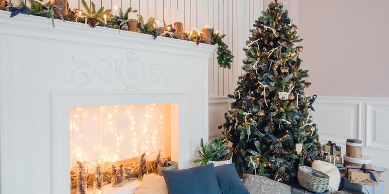 vroeg kerstversiering ophangen