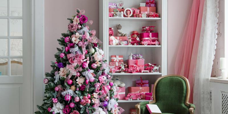 roze kersttrend