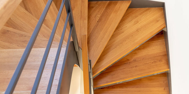 hout en aluminium balustrade