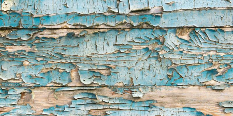Gebladderd hout