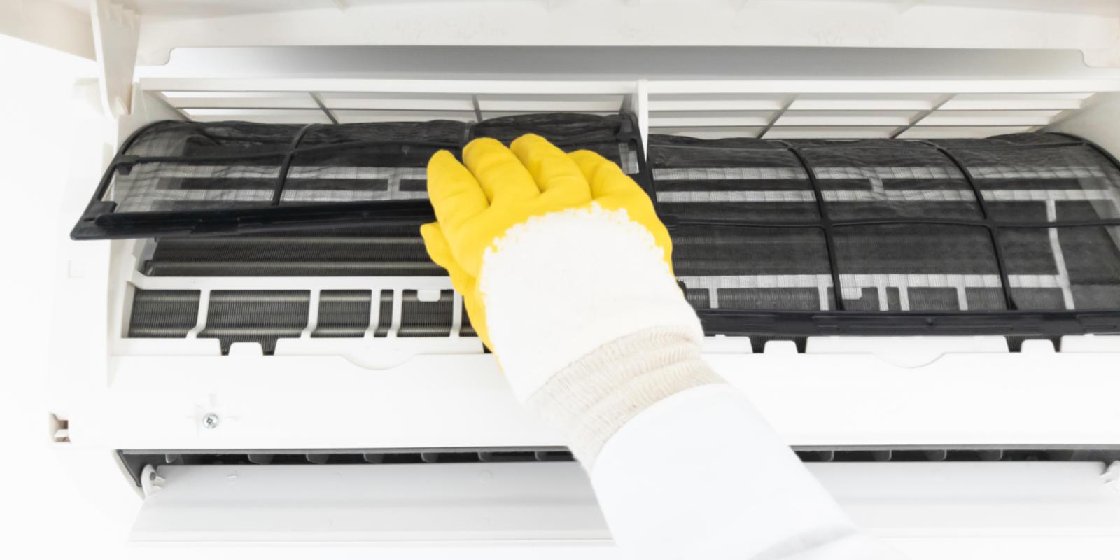 airco filters reinigen