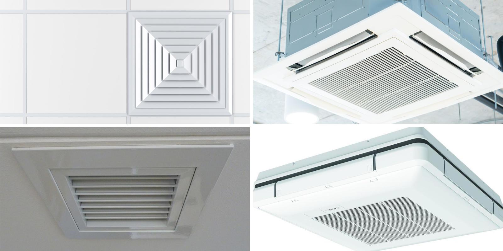 plafond airco