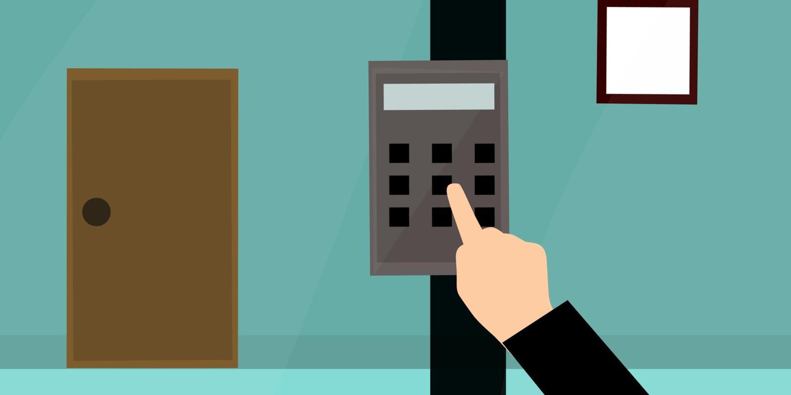 Bedieningspaneel alarmsysteem