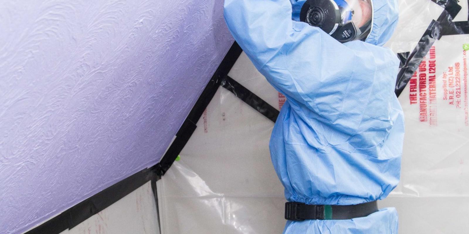 losgebonden asbest verwijderen