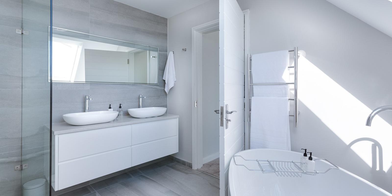 schitterende badkamer