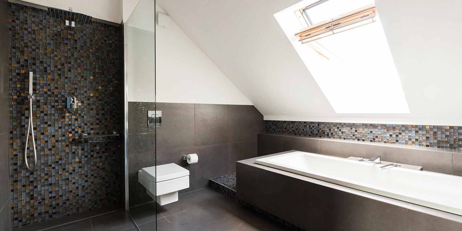 wandpatroon badkamer
