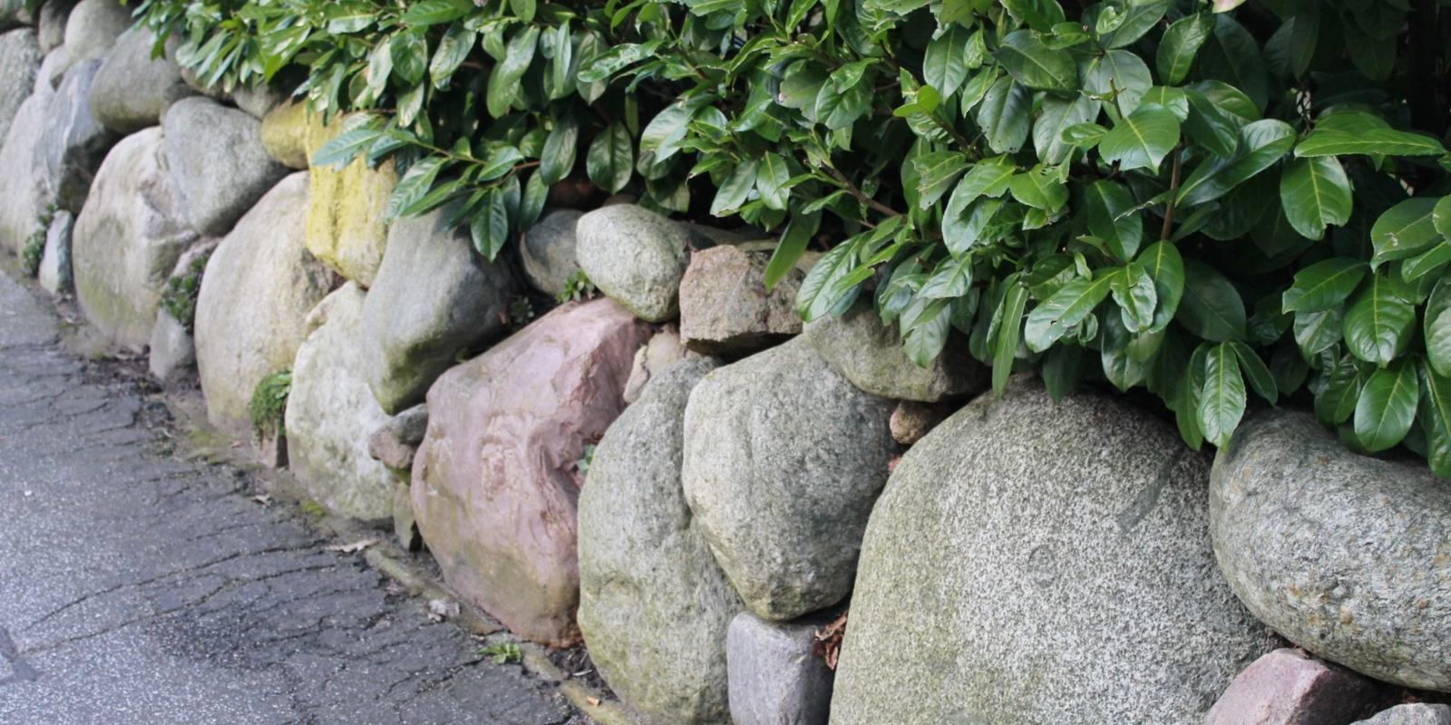 Zelf border maken met stenen