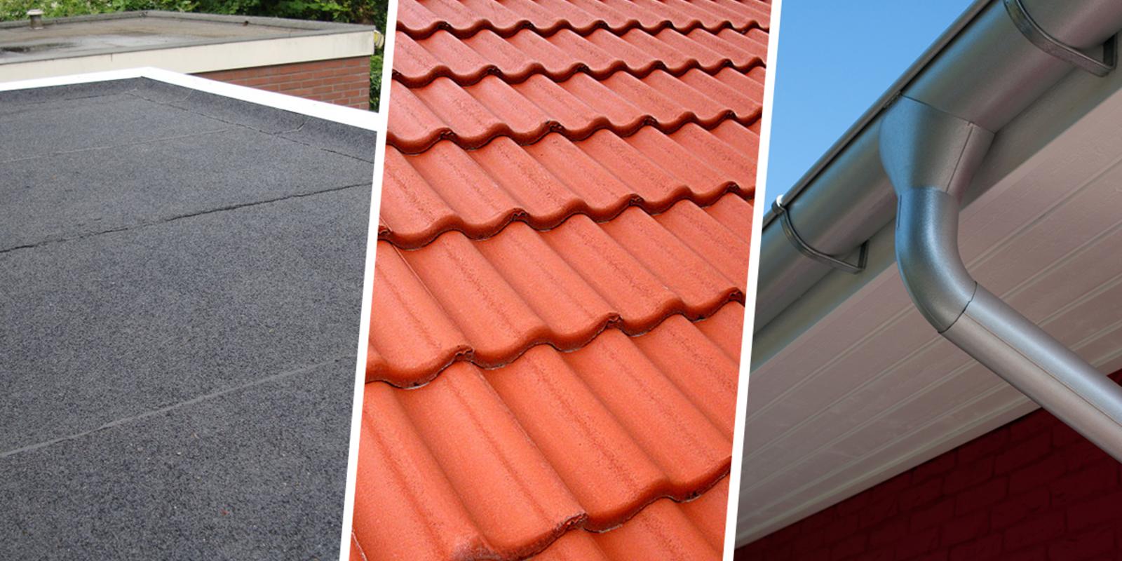 dakbedekking en afvoer dakkapel