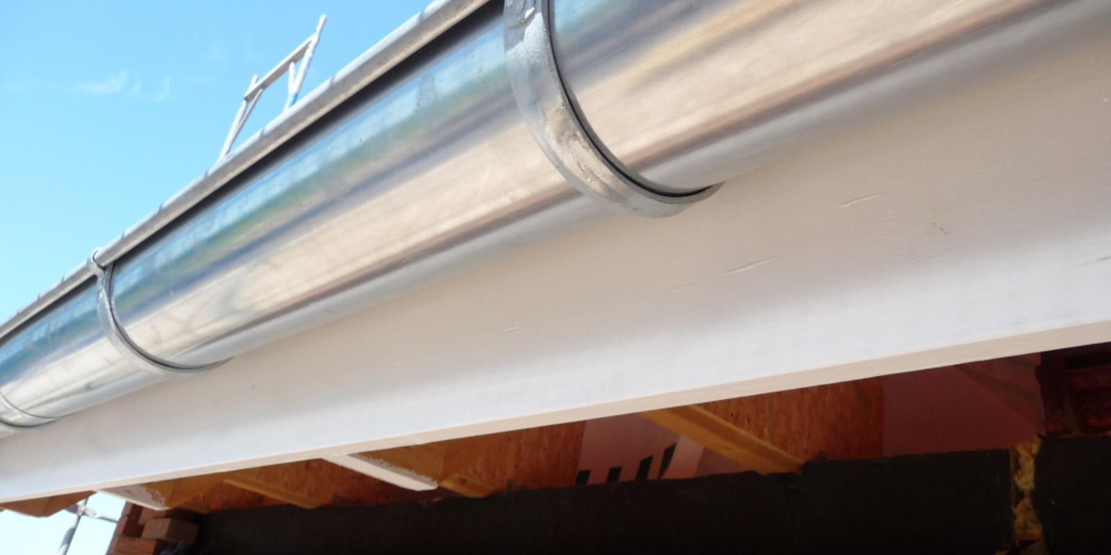 naadloze aluminium dakgoot