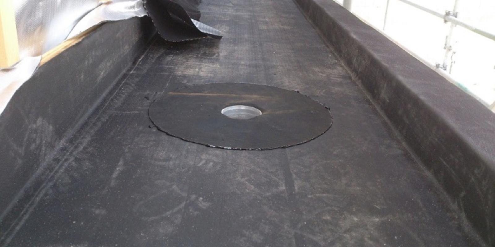 dak repareren met epdm