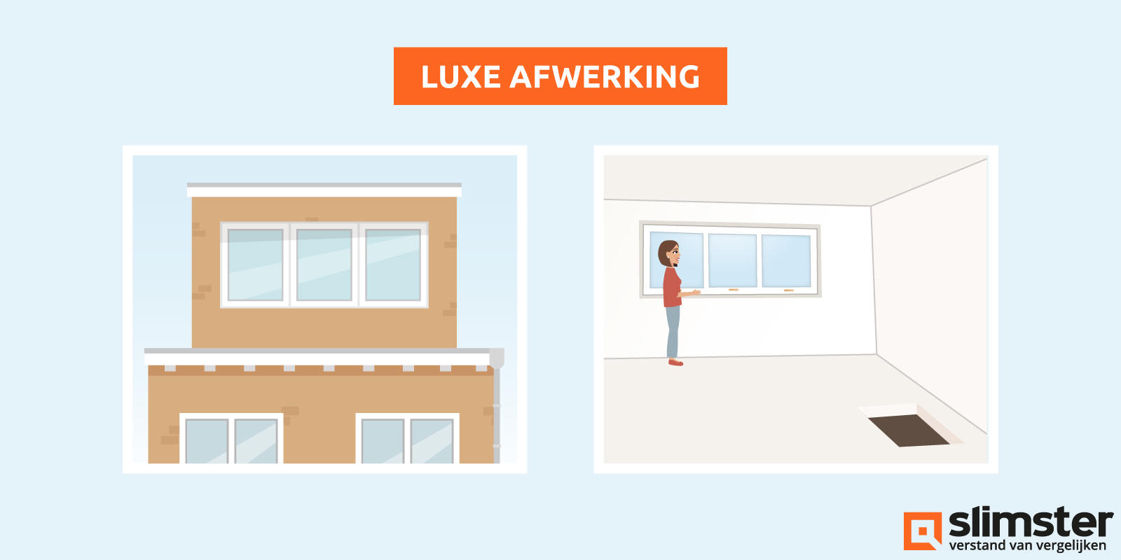 luxe afwerking dakopbouw
