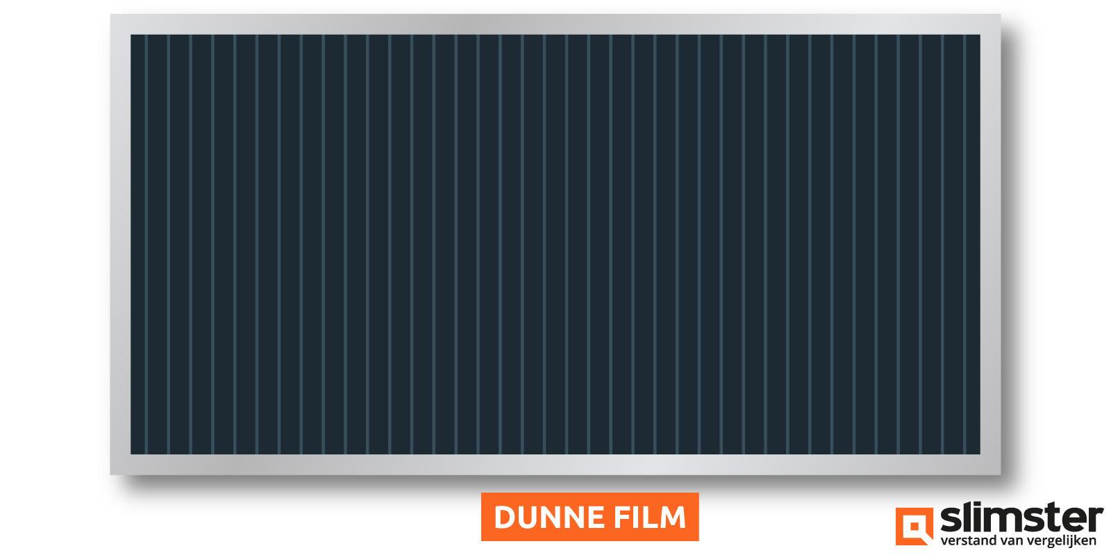 dunne film zonnepanelen