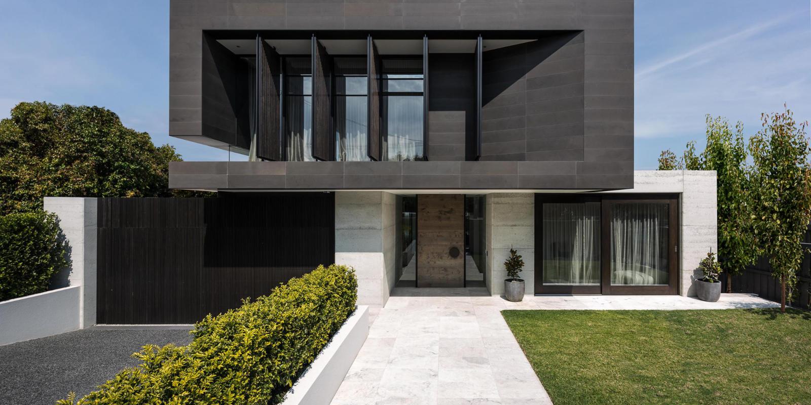 dubbele voordeur modern