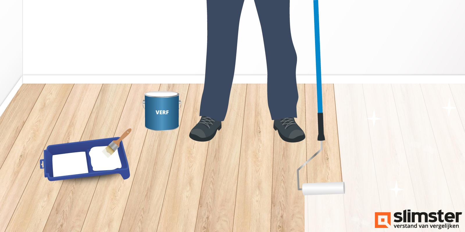 houten vloer kleur veranderen
