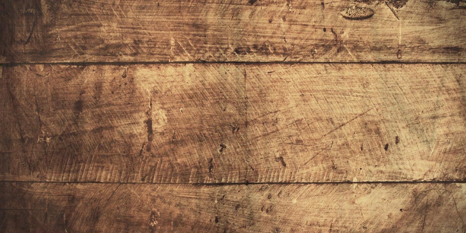 Krassen in houten vloer