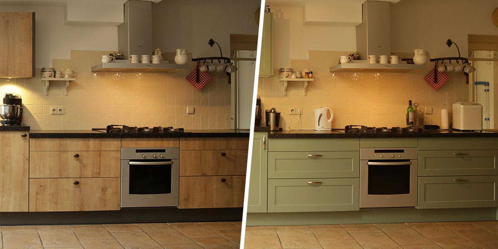 keuken schilderen kleuren