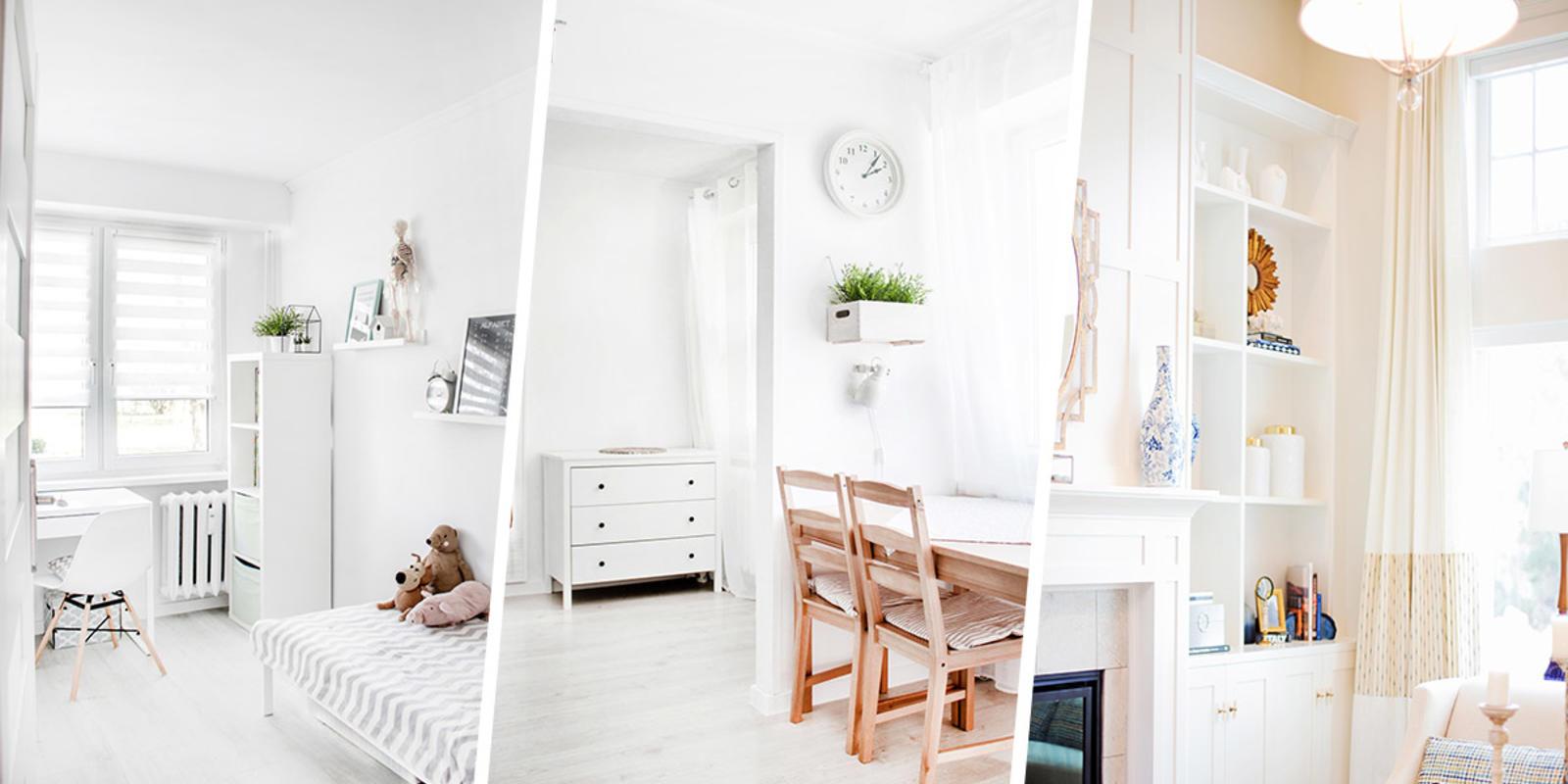 meubels in lichte kleuren