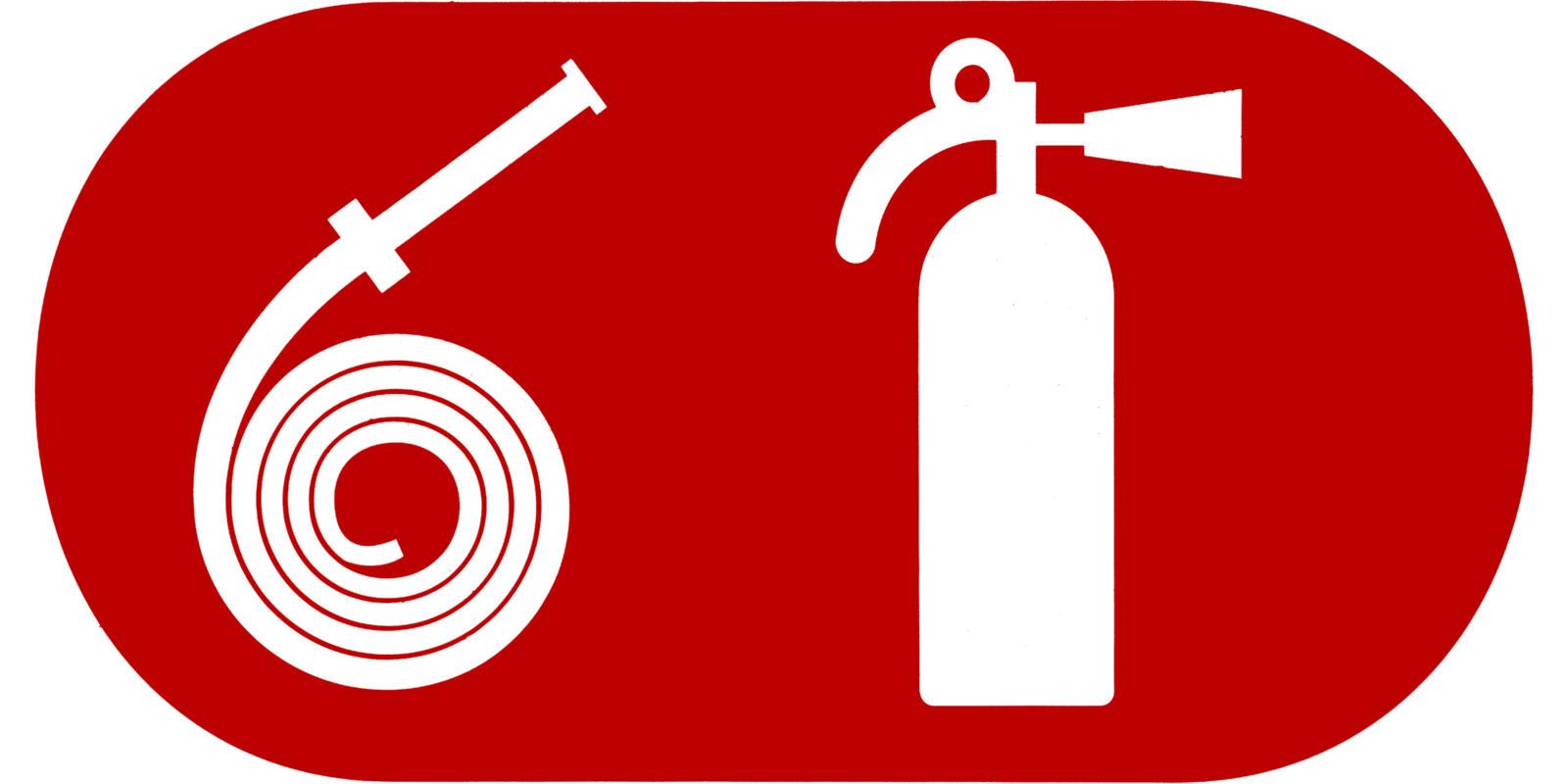 Veiligheidspictogram brandblussers