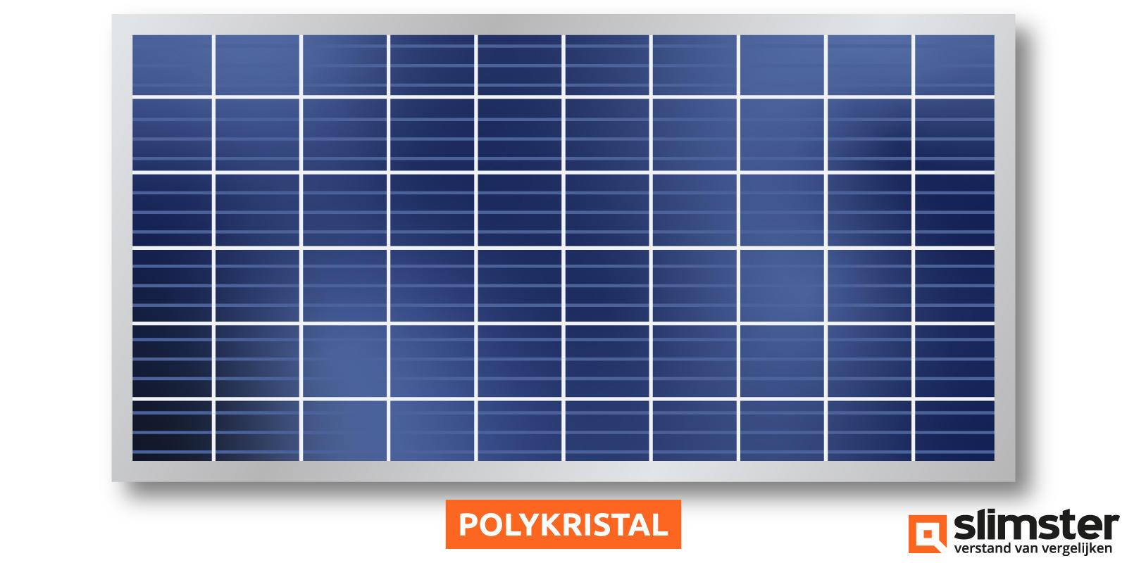 polykristal zonnepanelen