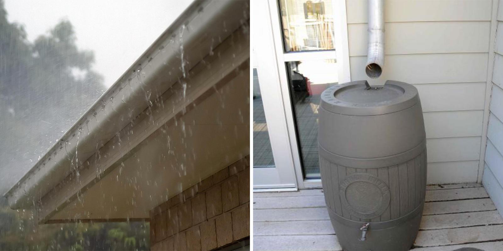 regenwater overlast voorkomen