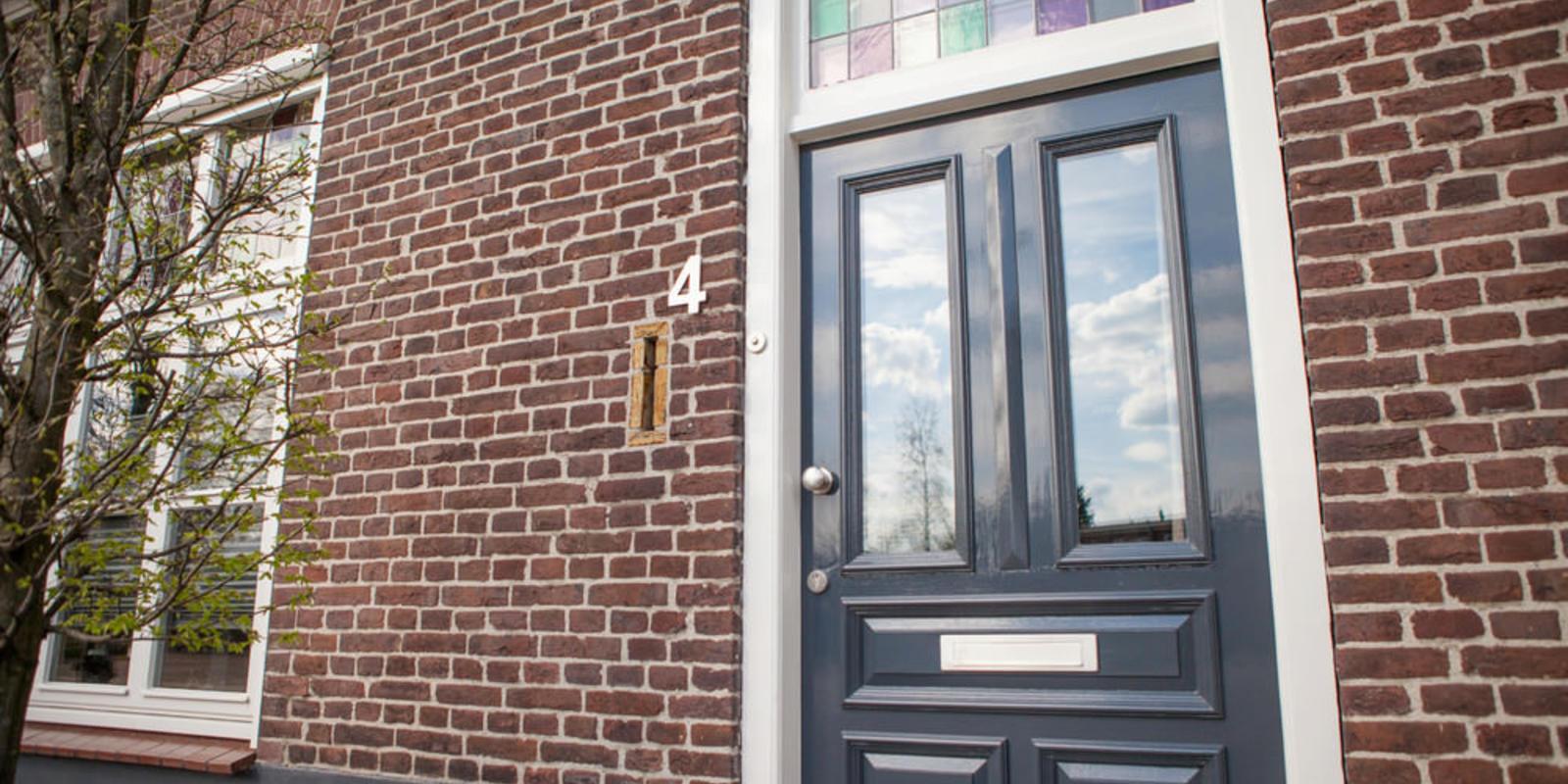 glas in lood voordeur