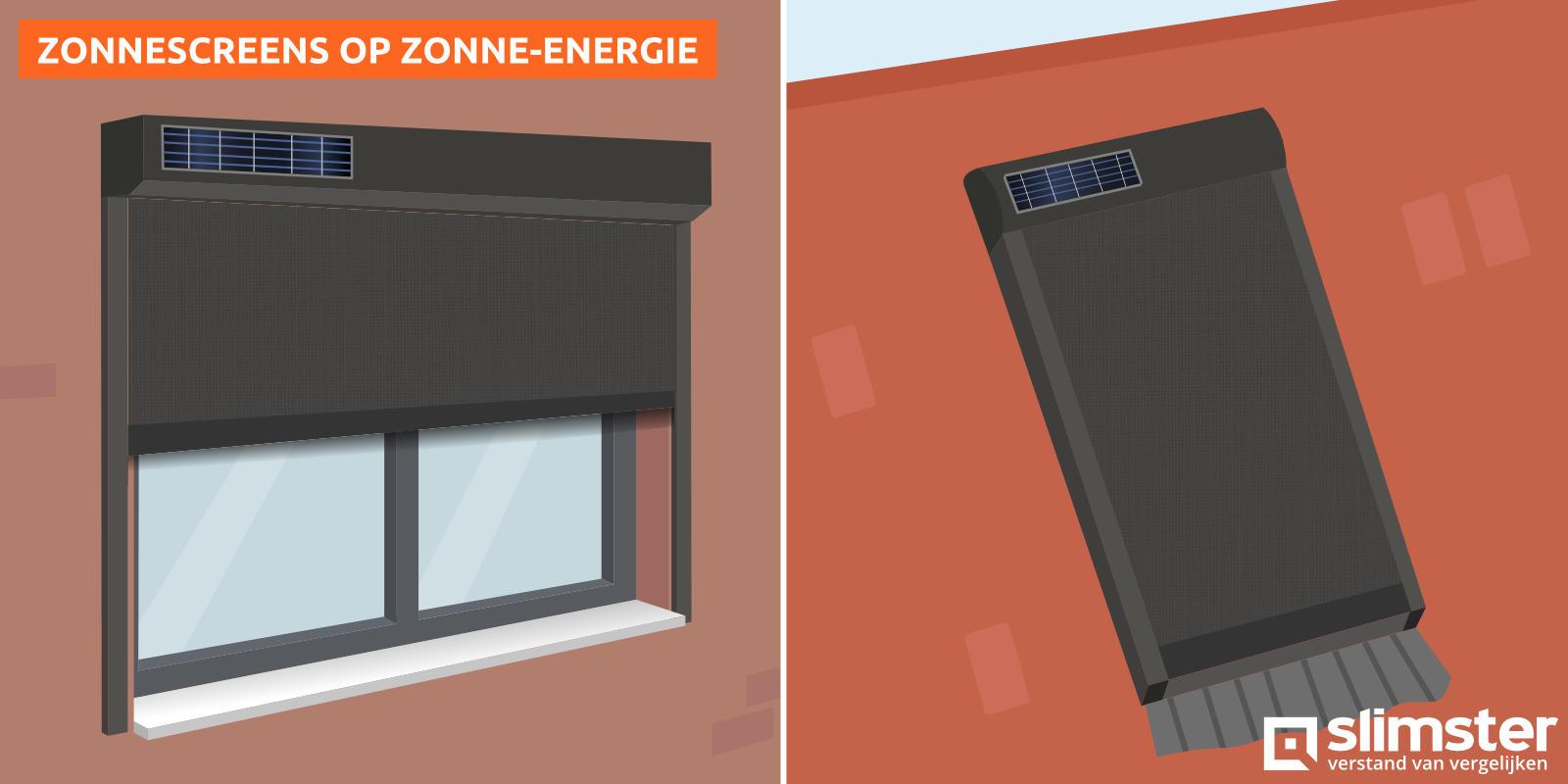 screens op zonne energie