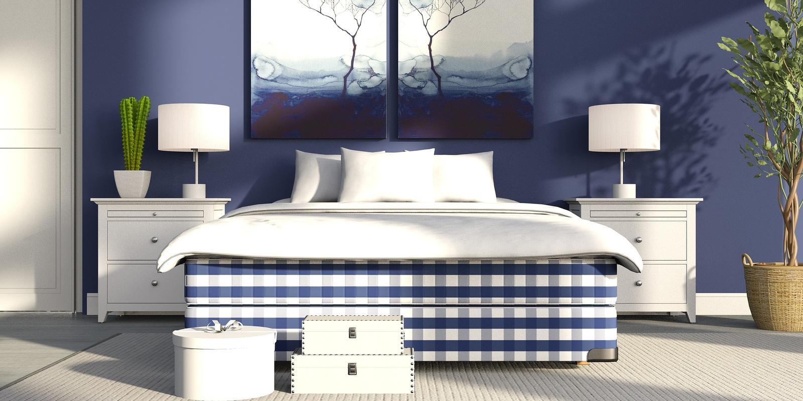 er zijn zelfs kleuren die helpen bij een goede nachtrust wist je dat blauw de beste kleur is voor in de slaapkamer