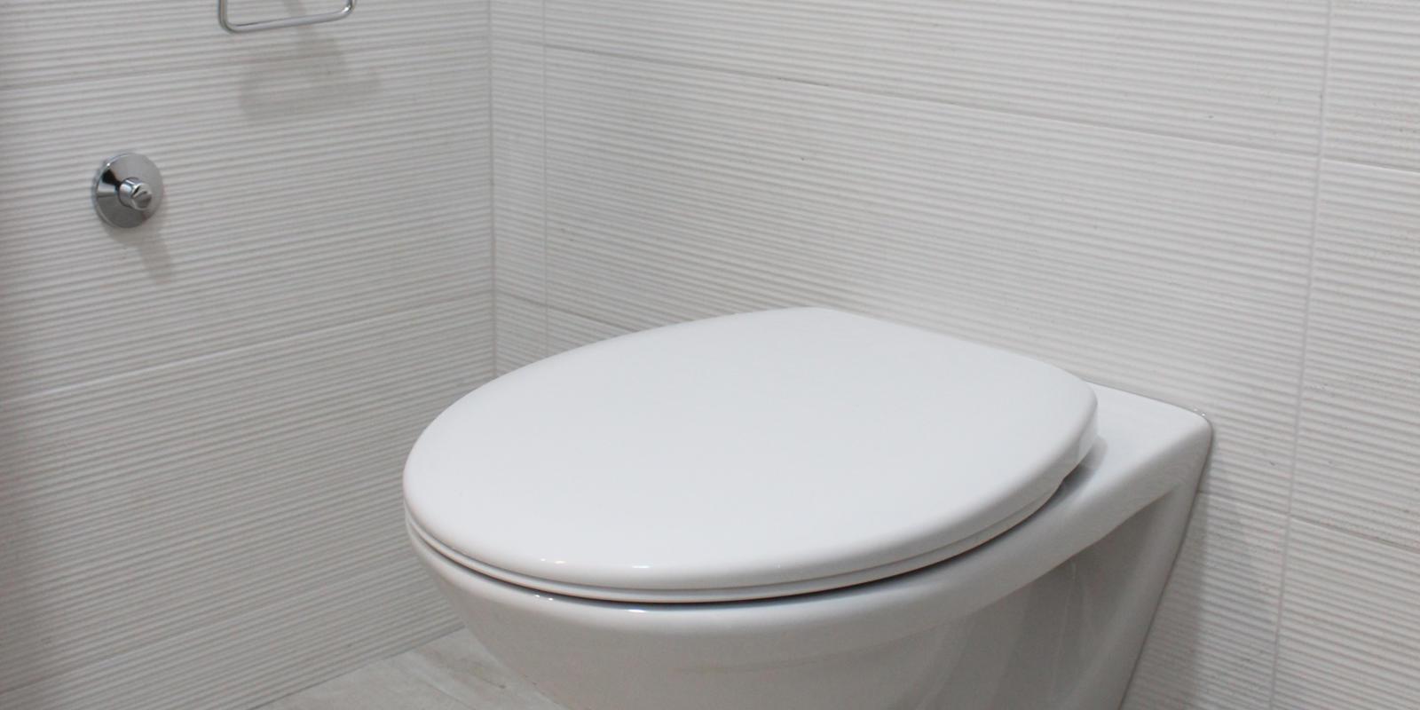 hangend toilet verwijderen