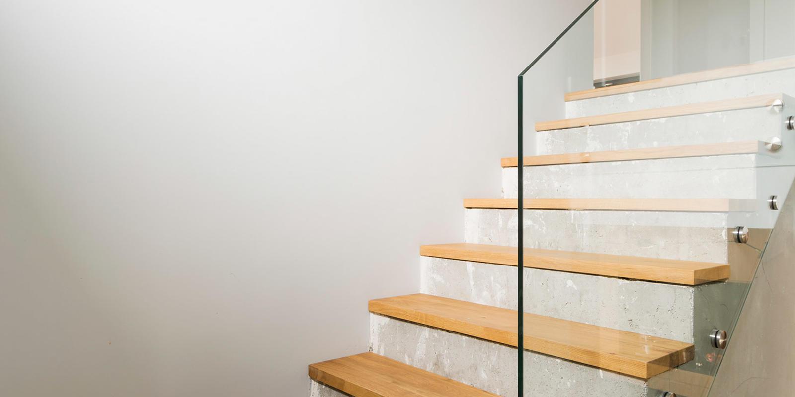 beton trap maken