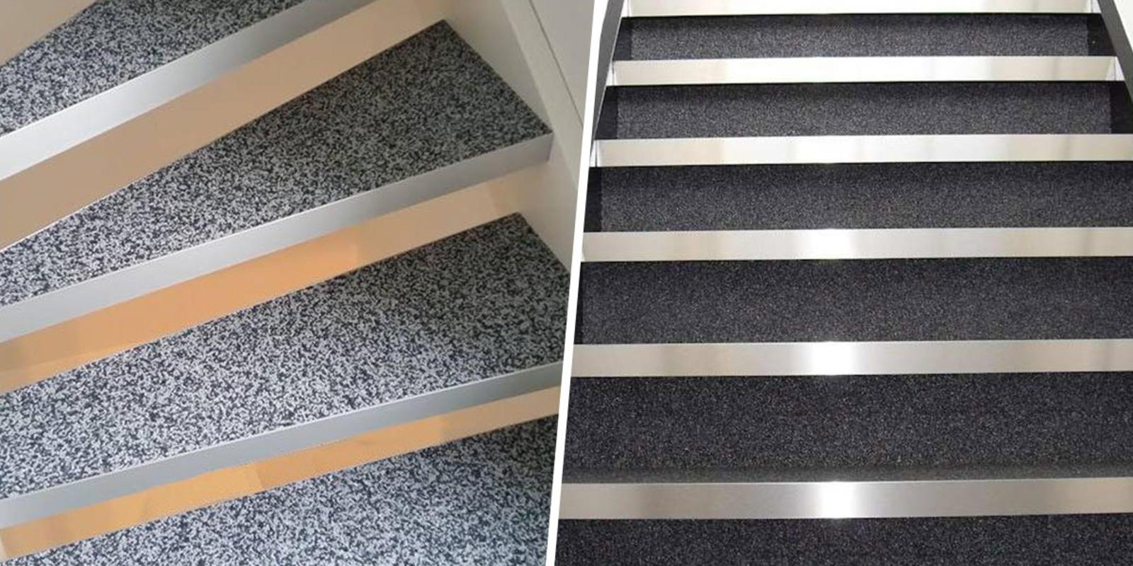 siergrind op trap