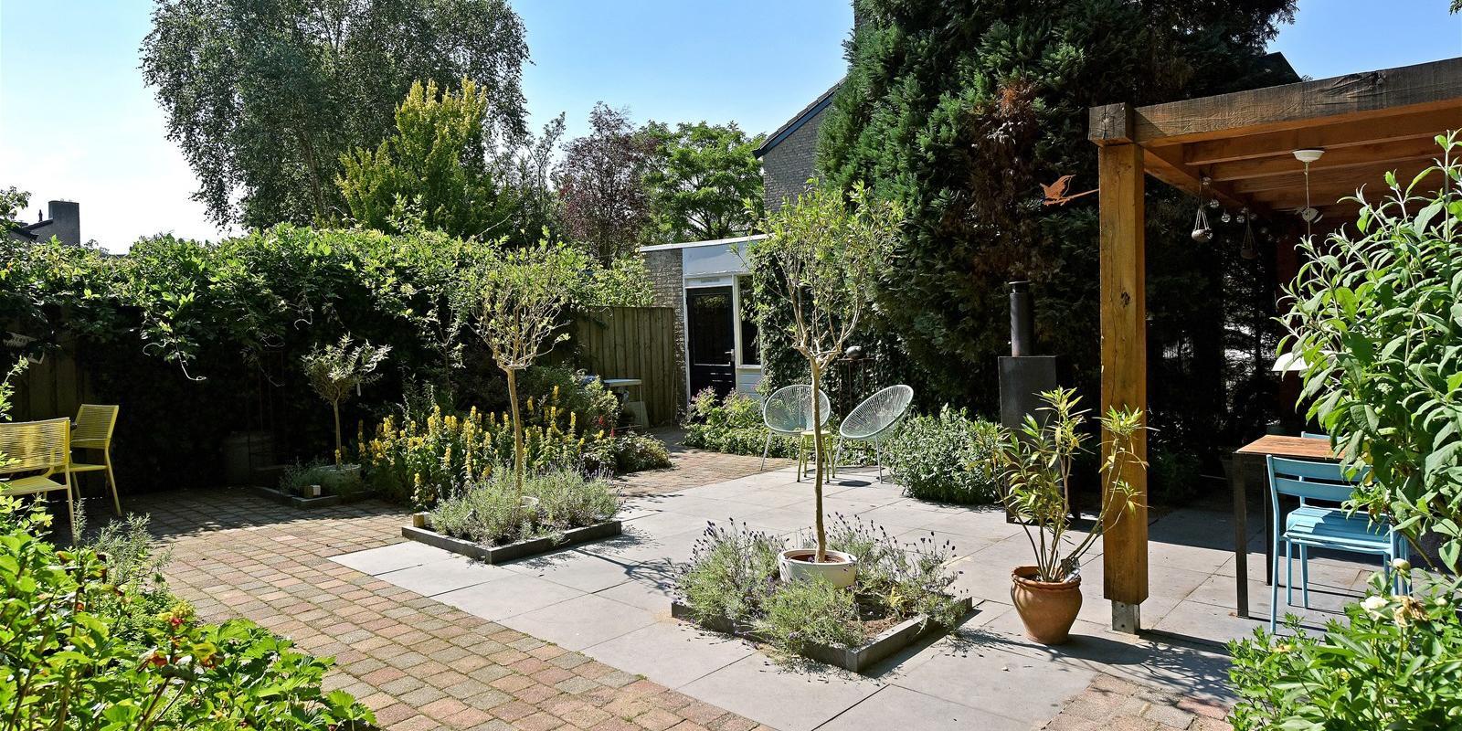Kleine tuin groter laten lijken
