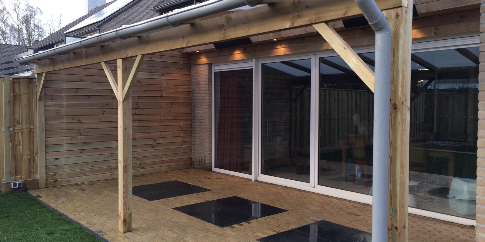 Verwonderlijk Wat kost een houten veranda? Veranda hout prijzen   Slimster KW-74
