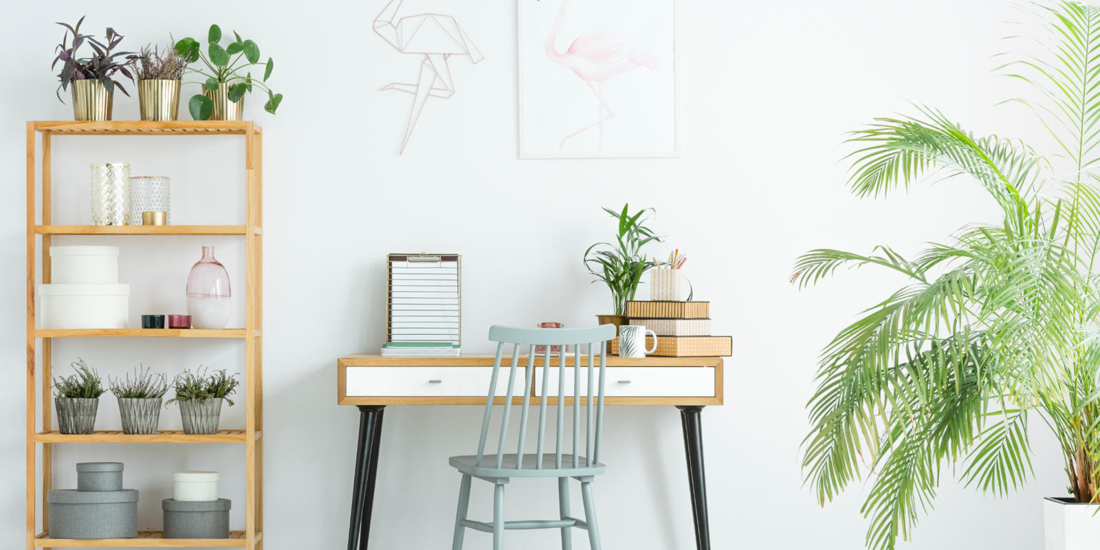 thuiswerk kantoor inrichten