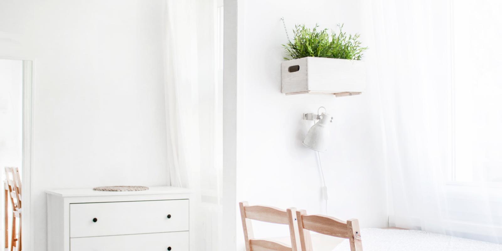 kleine woonkamer groter laten lijken
