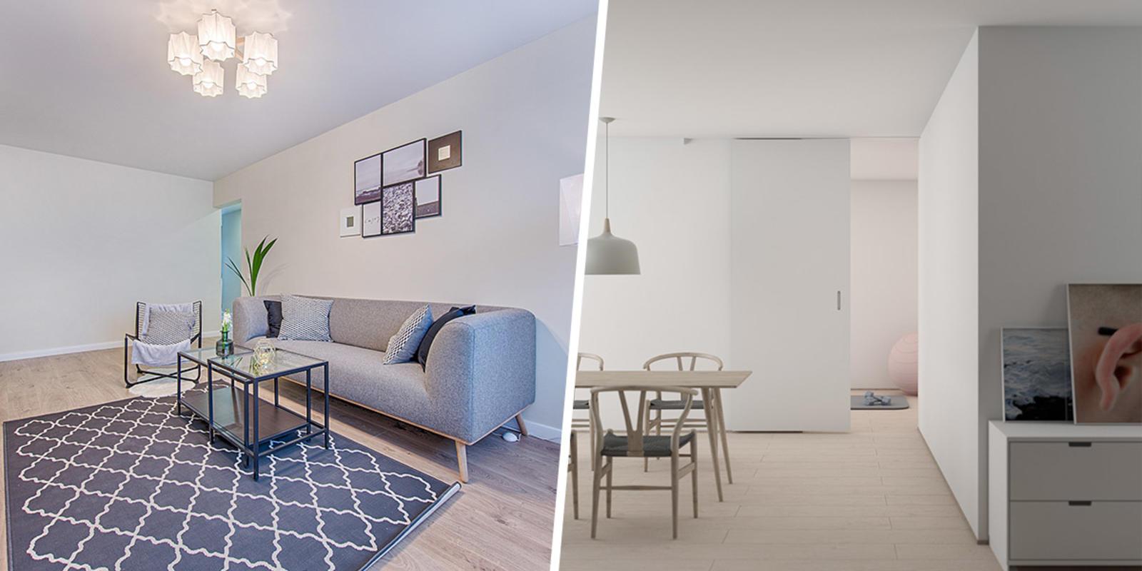 lichte kleuren woonkamer