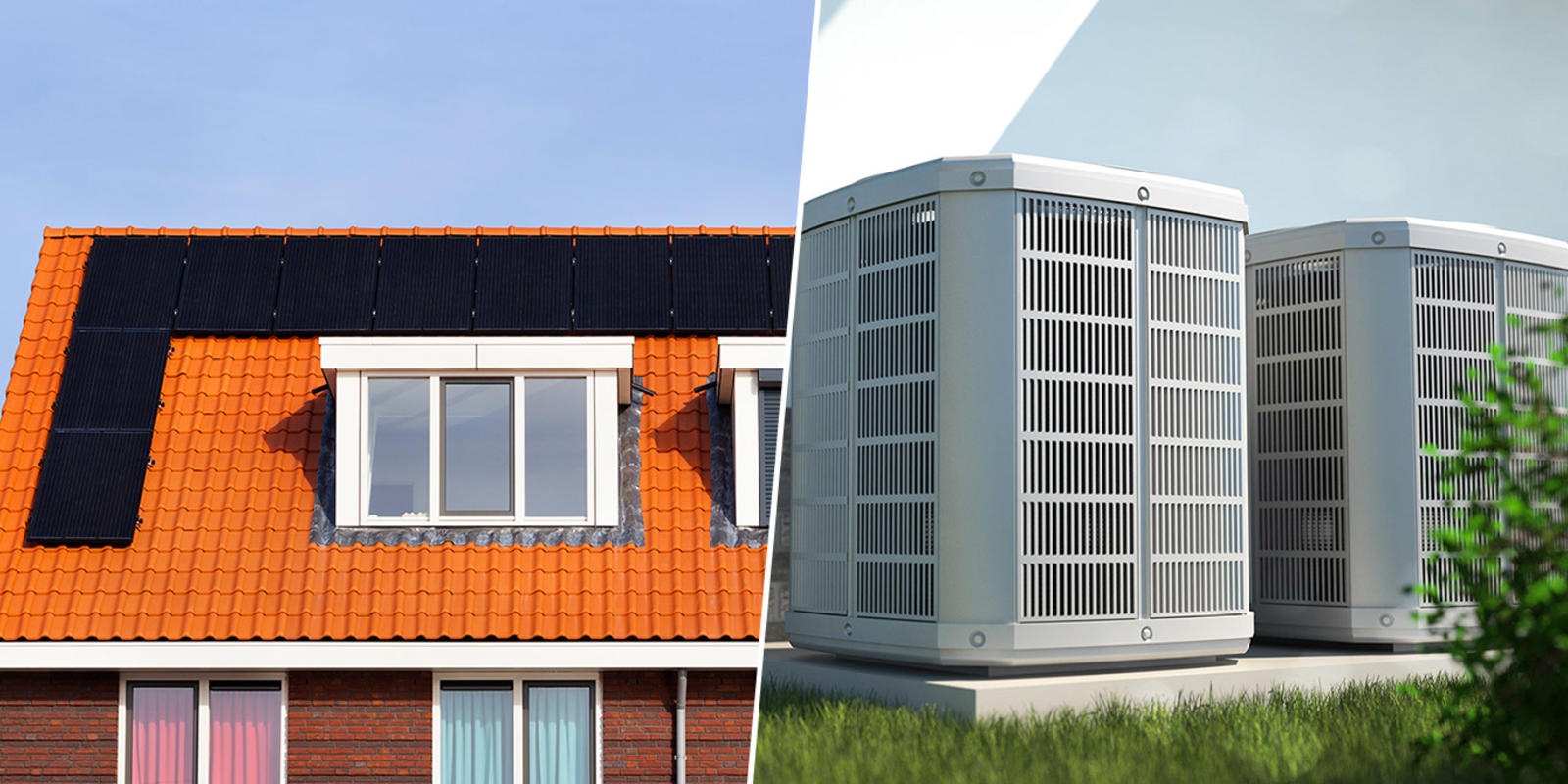 zonnepanelen en warmtepomp