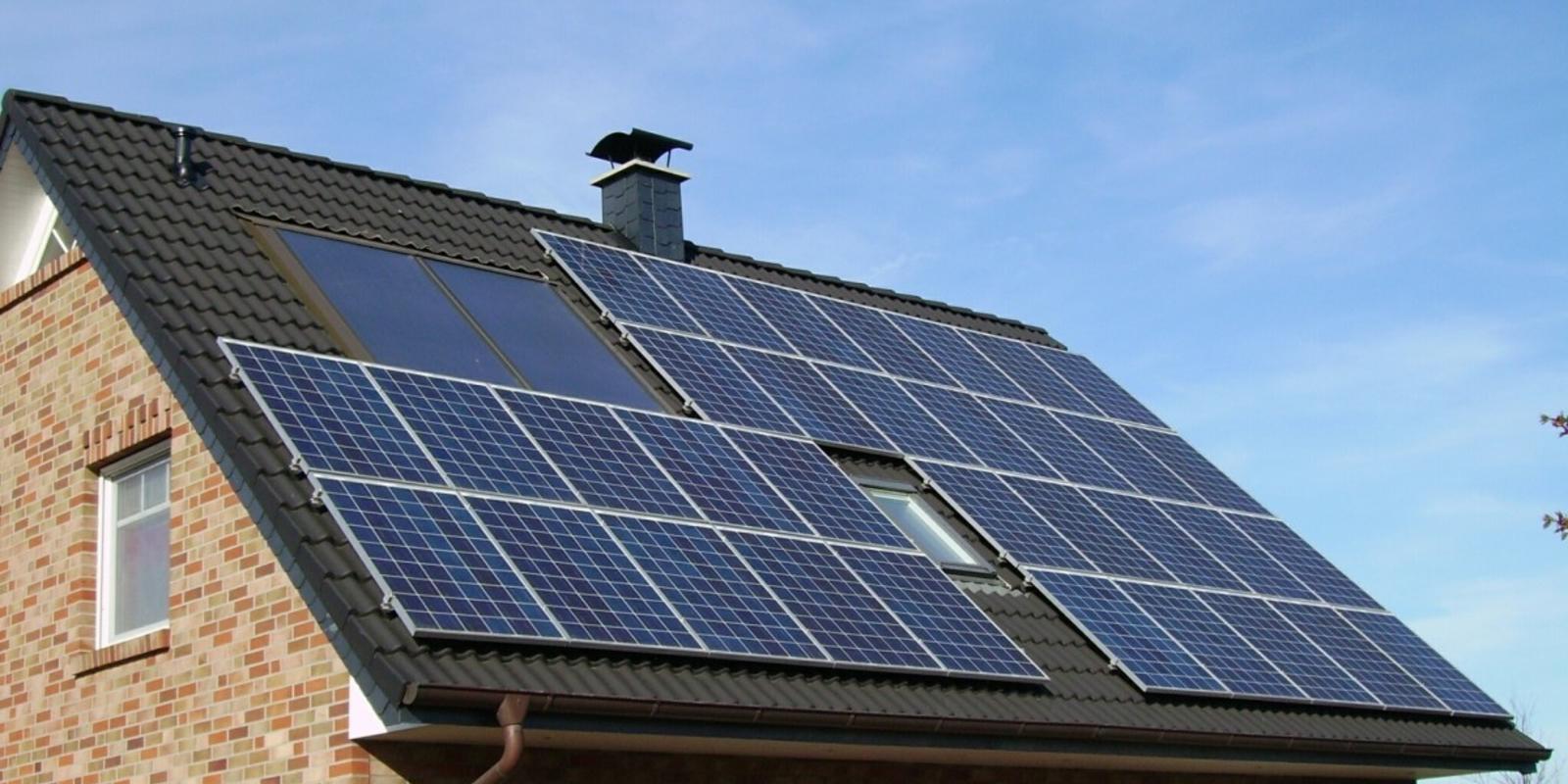 besparing met zonnepanelen huren