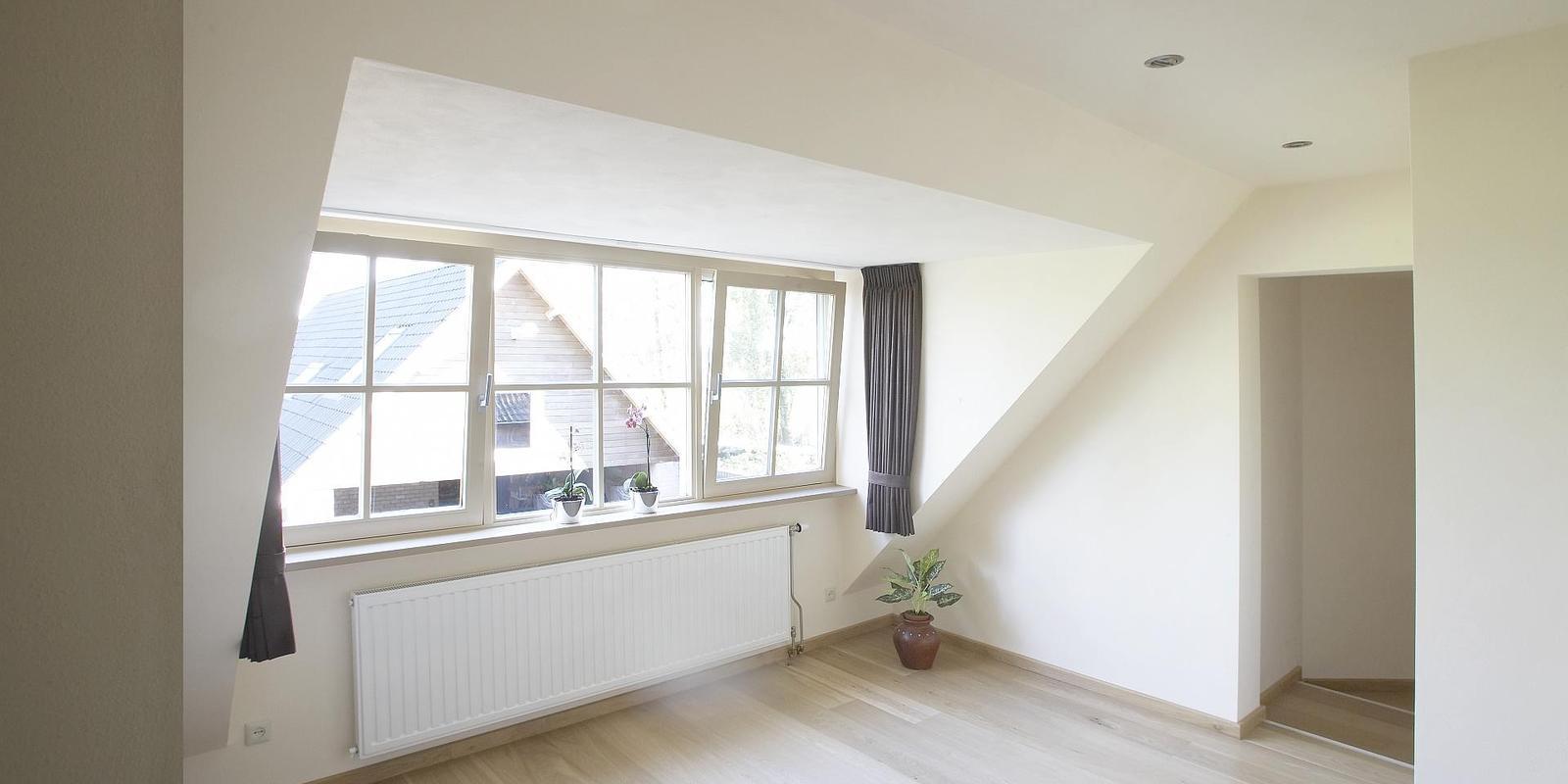 binnenkant dakkapel schilderen