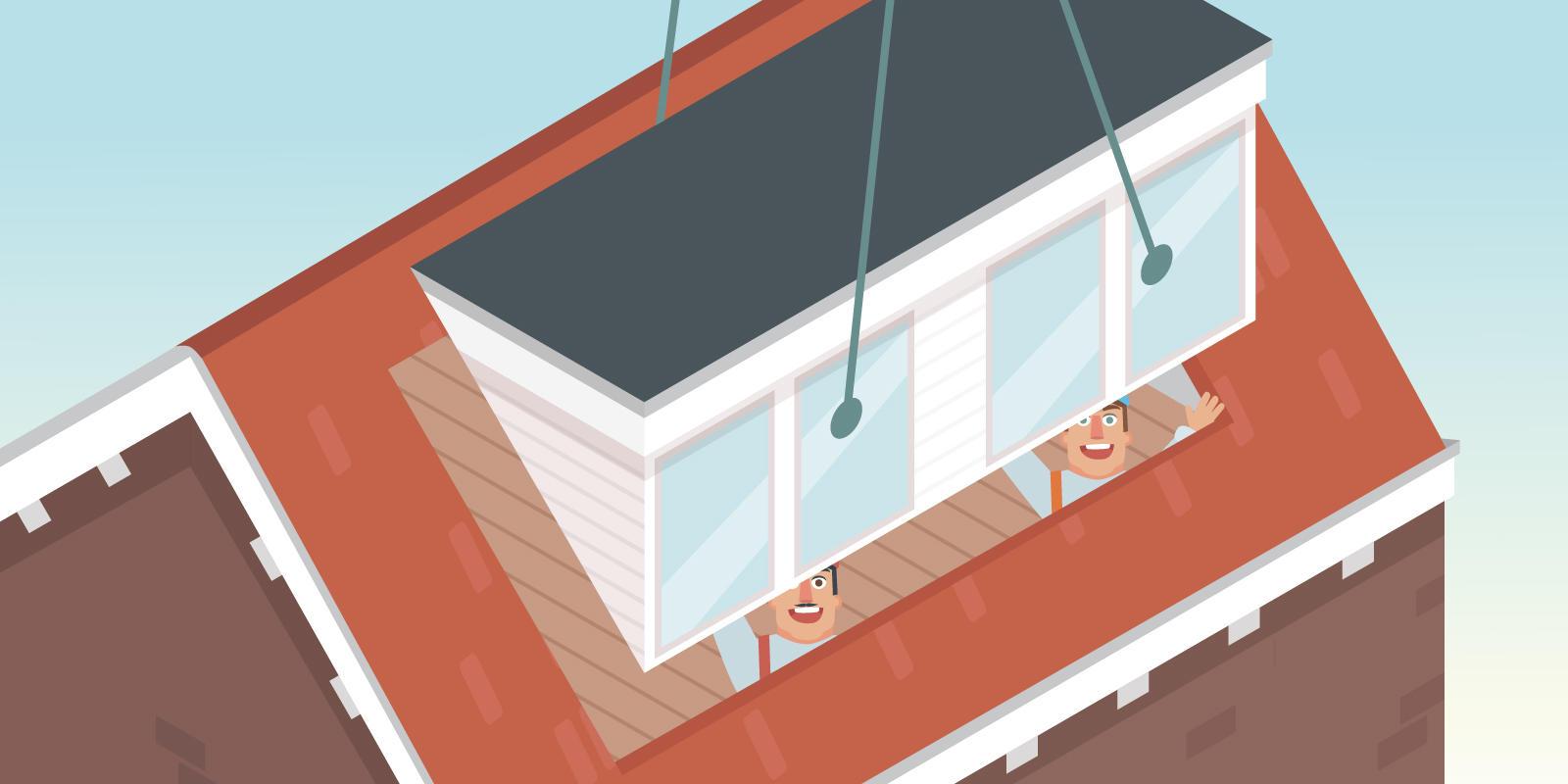 dakkapel plaatsen vergunning