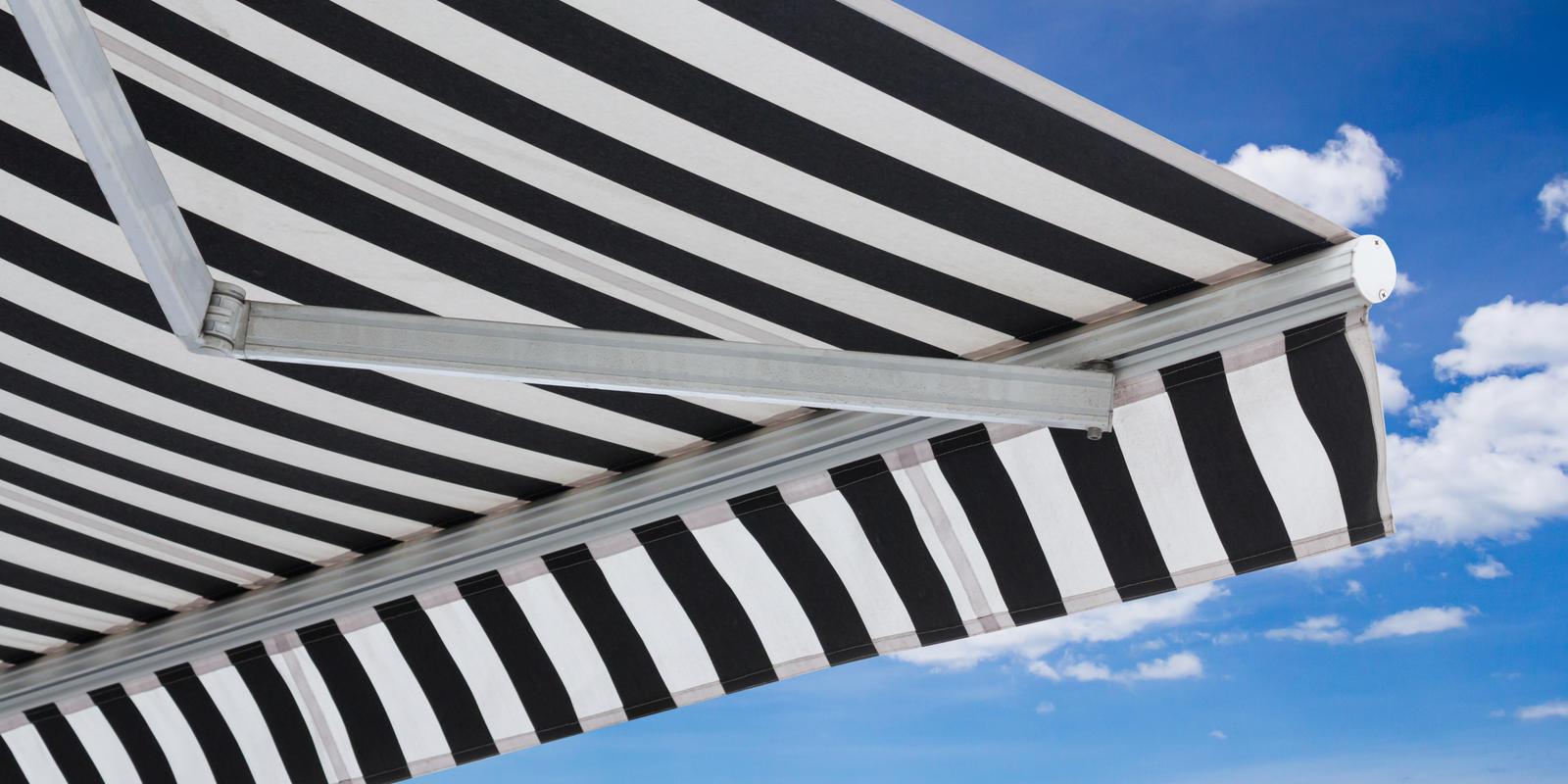 zonwering balkon zonder boren