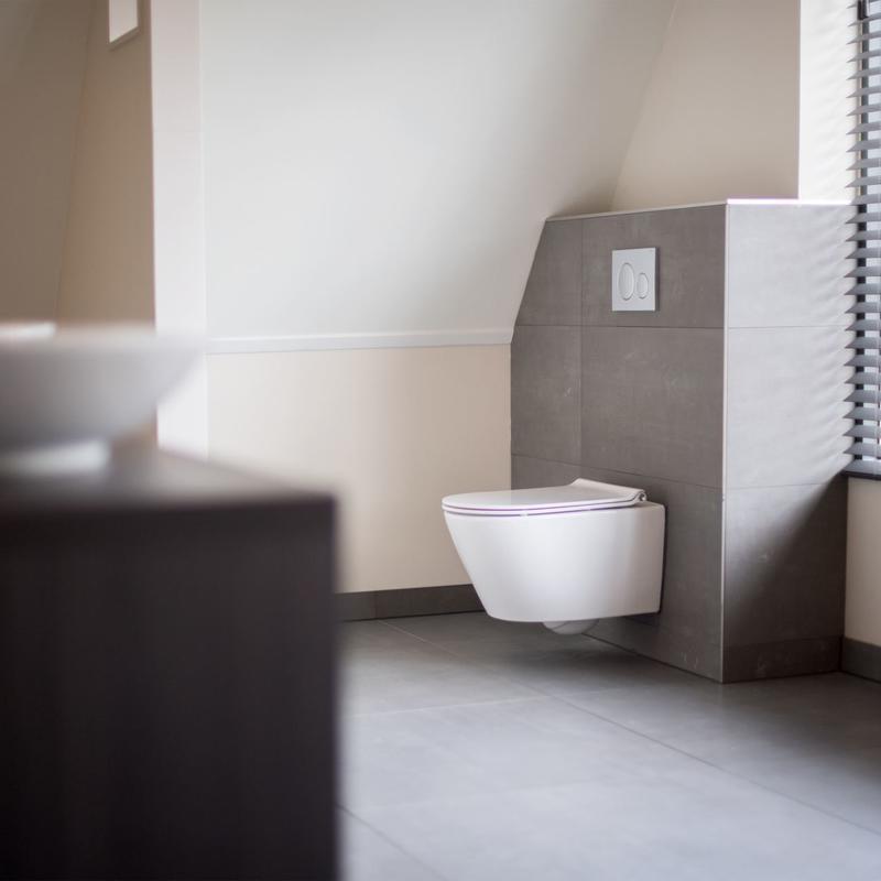 Toilet renoveren in badkamer | Prijzen en mogelijkheden | Slimster
