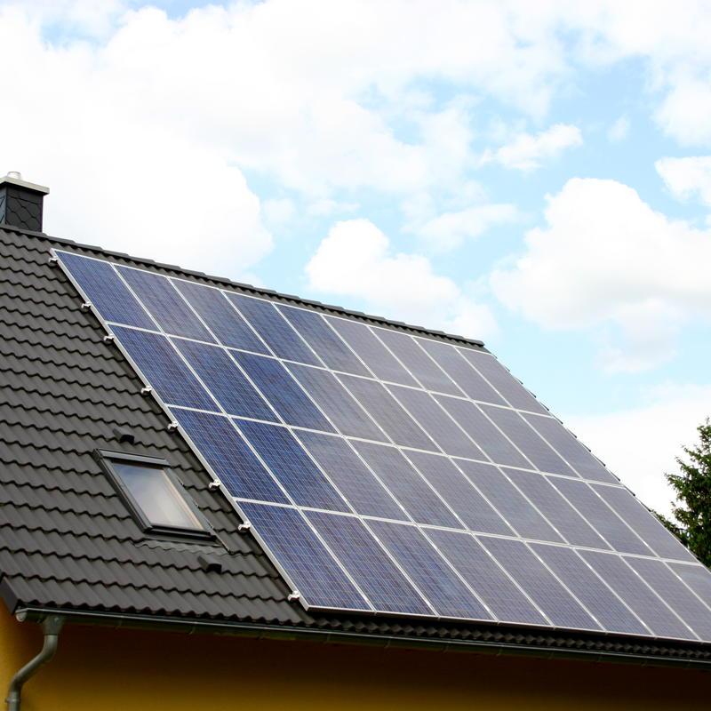 zonnepanelen schuine daken