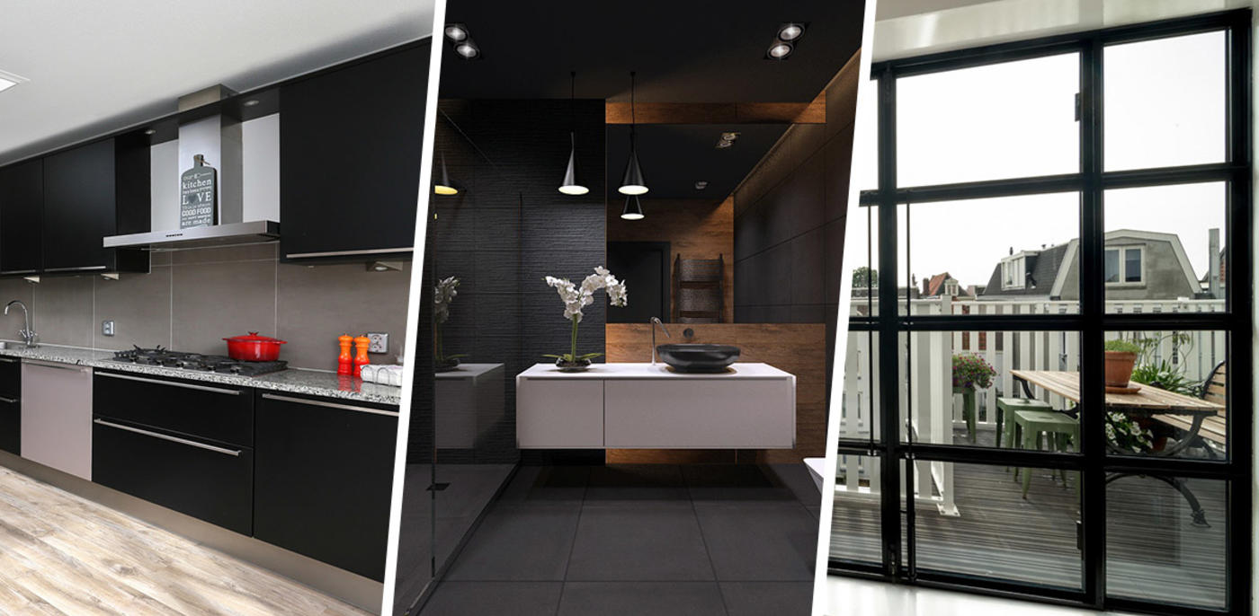 Zwart in huis: 6 tips voor een zwart interieur