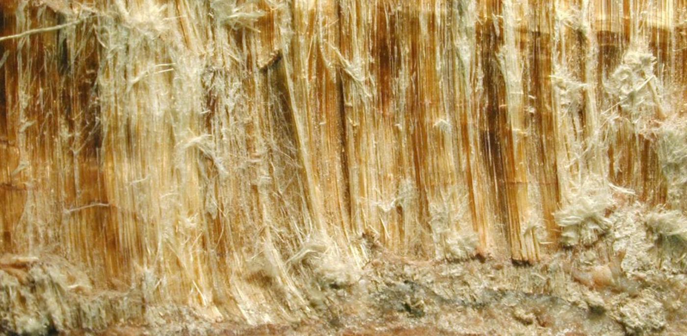 Bruine asbest
