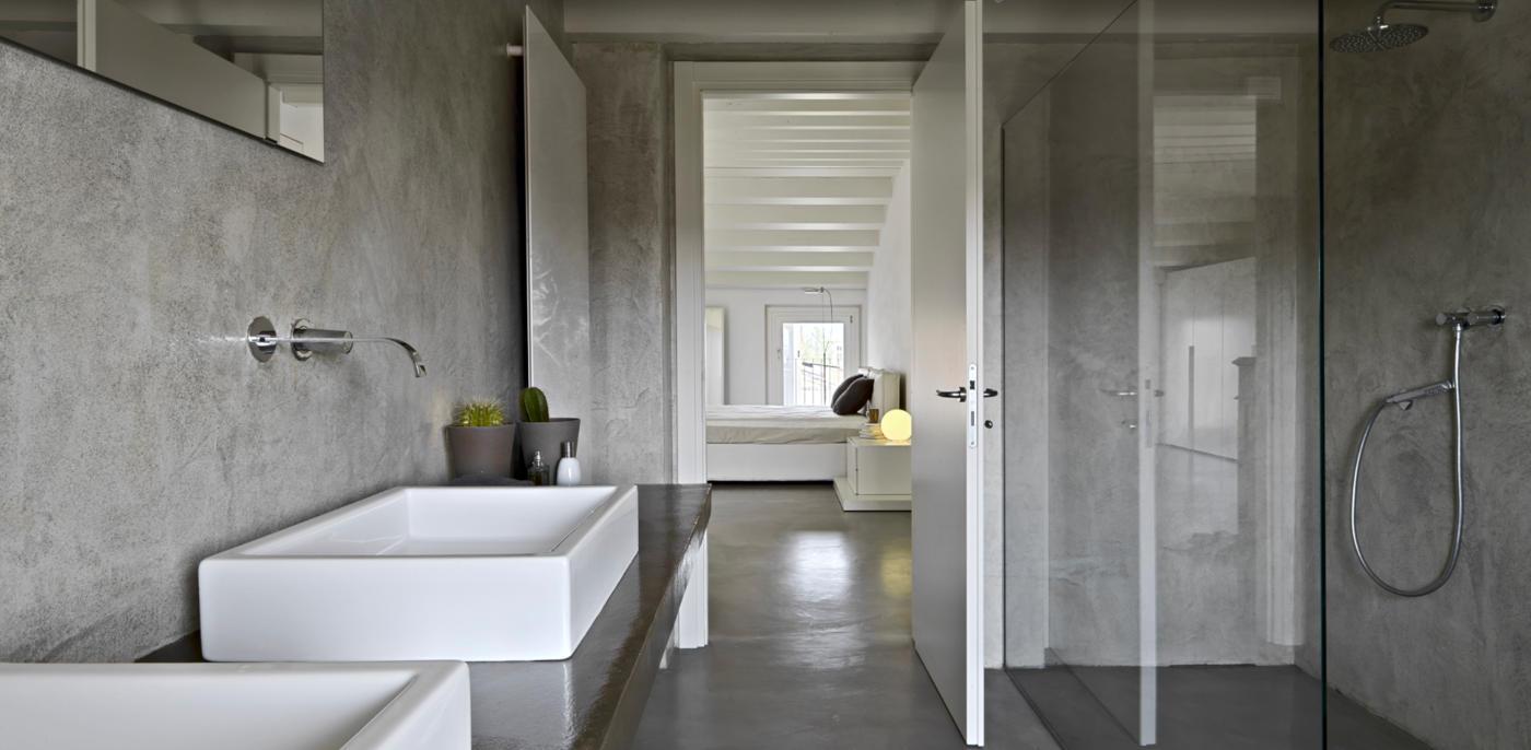 Grijze badkamer voorbeelden